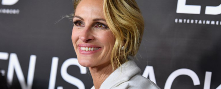 FILE: US actress Julia Roberts attends the 'Ben Is Back' New York premiere at AMC Loews Lincoln Square on 3 December 2018 in New York City. Picture: AFP
