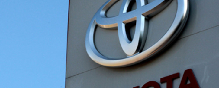 Toyota logo. Picture: Werner Beukes/Sapa.