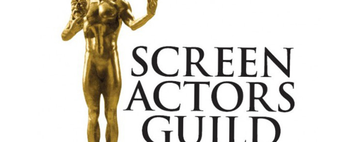 Screengrab of Screen Actors Guild (SAG) Awards logo.