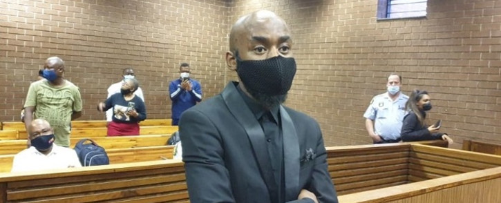 The alleged mastermind behind Tshegofatso Pule's murder and her boyfriend, Ntuthuko Shoba, appeared in the Roodepoort Magistrates Court on 22 February 2021. Picture: @NPA_Prosecutes/Twitter.