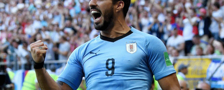 Luis Suarez. Picture: @FIFAWorldCup/Twitter.