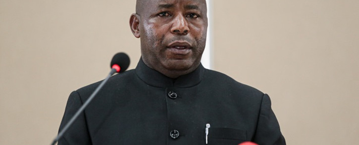 FILE: Evariste Ndayishimiye. Picture: AFP.