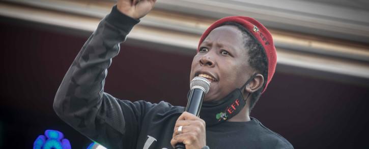 FILE: EFF leader Julius Malema. Picture: Abigail Javier/EWN