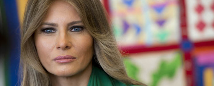 FILE: US First Lady Melania Trump. Picture: AFP