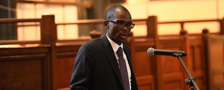 FILE: Deputy Finance Minister David Masondo. Picture: @TreasurySA/Twitter.