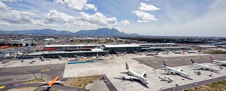 A general view of Cape Town International Airport. Picture: Facebook.com