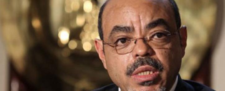 Former Ethiopian Prime Minister Meles Zenawi. Picture: AFP
