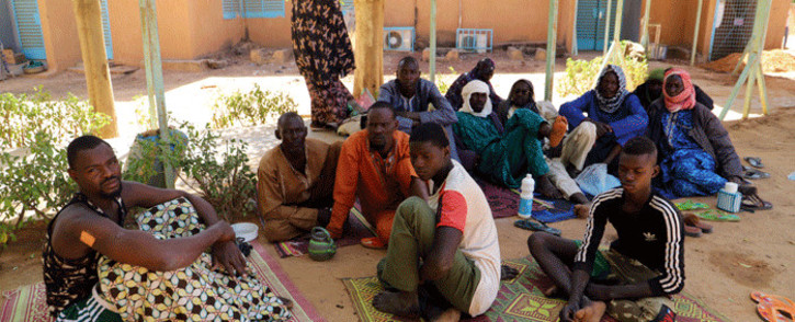 Survivors of the jihadist attack in Zaroumadareye sit at the hospital in Ouallam, Niger, on January 9, 2021. Picture: Souleymane Ag Anara / AFP