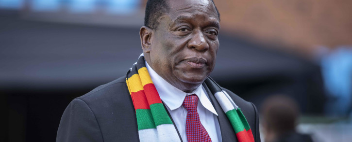 FILE: Emmerson Mnangagwa said in a live broadcast that only state and health workers on duty will be exempted from the lockdown. Picture: Abigail Xavier/EWN