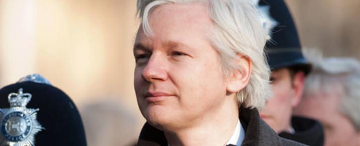 WikiLeaks' founder Julian Assange. Picture: AFP.