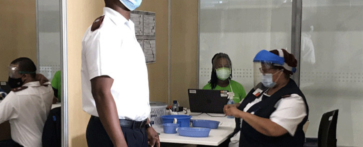 Netcare Hospital has teamed up with financial services group Old Mutual to establish a vaccination site in in Pinelands, Cape Town, which opened on 21 June 2021. Picture: Kevin Brandt/Eyewitness News.