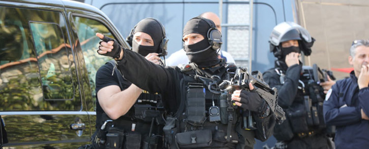 FILE: Members of the French RAID police. Picture: AFP