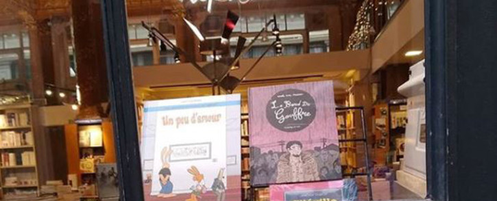 The Tropismes bookshop in the Galeries Royales in Brussels. Picture: Instagram/librairietropismes