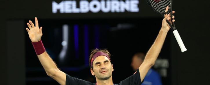 Roger Federer. Picture: @AustralianOpen/Twitter