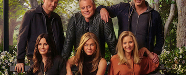 The cast of Friends reunited for a special episode. Picture: HBO Max
