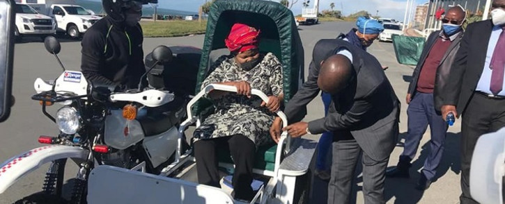 FILE: The Public Protector's office has found the procurement of the so-called 'scooter ambulances' in the Eastern Cape was illegal. Picture: Healthmec/Facebook