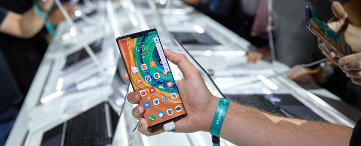 The new Huawei Mate 30. Picture: @HuaweiMobile/Twitter