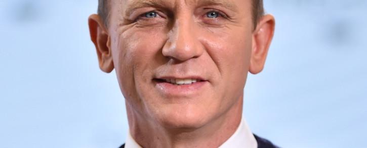 British actor Daniel Craig. Picture: AFP