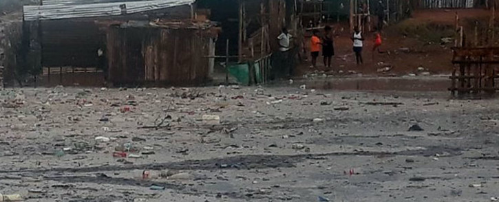 This file photo shared by the Oudtshoorn Municipality on 9 January 2019 shows community members who were hit by flash floods on 8 January 2019. Picture: @Oudtmun/Twitter