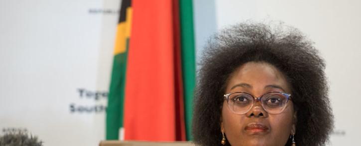 FILE: Mmamoloko Kubayi-Ngubane. Picture: GCIS