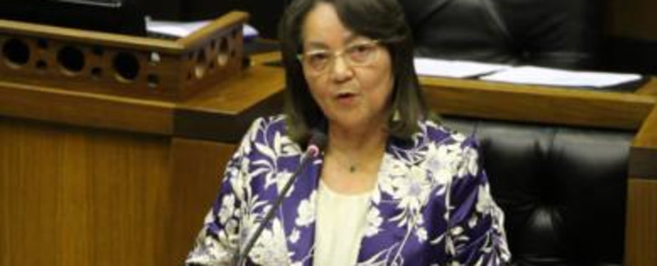 FILE: Minister of Public Works and Infrastructure Patricia De Lille Picture: @DepPublicWorks/Twitter.