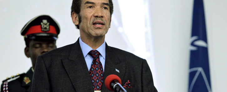 FILE: Former Botswana President Ian Khama. Picture: United Nations Photo.