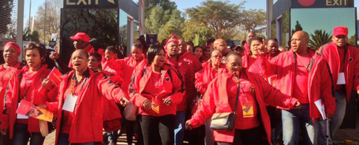 Cosatu members at the unions special national congress held at Gallagher Convention Center on 13 July 2015. Picture: Govan Whittles/EWN.