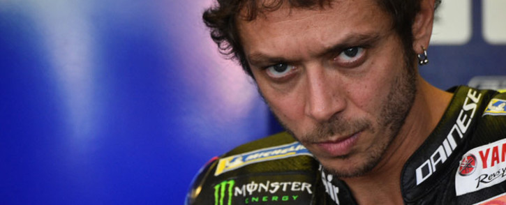 FILE: Monster Energy Yamaha Italian rider Valentino Rossi. Picture: AFP
