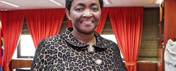 African National Congress Women's League (ANCWL) President & Social Development Minister Bathabile Dlamini. Picture: Facebook.