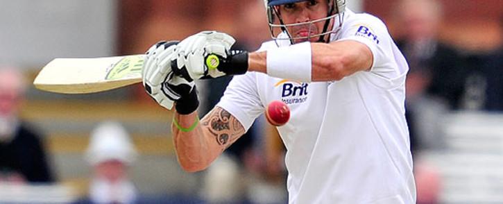 England batsman Kevin Pietersen. Picture: AFP