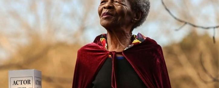Late veteran actress Mary Twala. Picture: @Somizi/Twitter