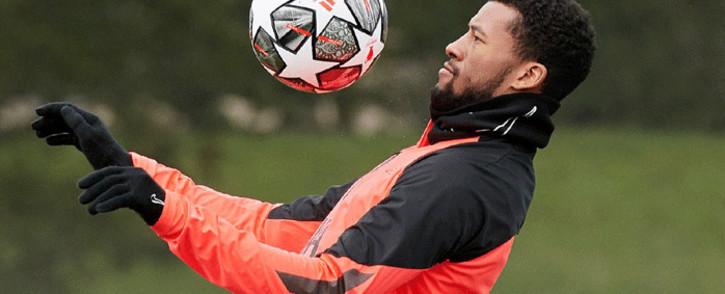 Liverpool's Georginio Wijnaldum. Picture: @GWijnaldum/Twitter.