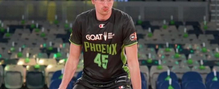 Ryan Broekhoff pulled out of Australia's Olympic basketball squad citing mental health issues. Picture: @SEMelbPhoenix/Twitter