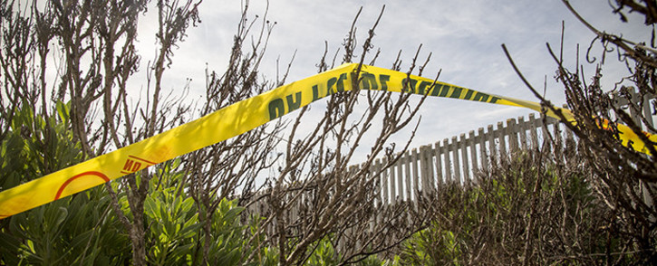 FILE: A police crime scene. Picture: Thomas Holder/Eyewitness News