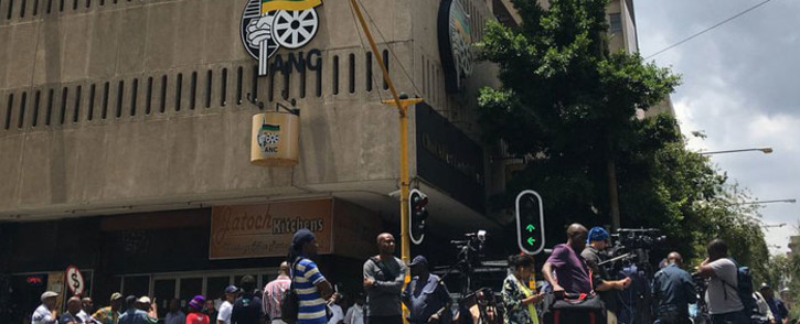FILE: Chief Albert Luthuli House, the ANC's headquarters in Johannesburg on 5 February 2018. Picture: Pelane Phakgadi/Eyewitness News
