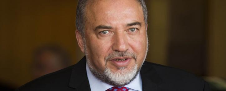 Israel Foreign Minister Avigdor Liberman. Picture: EPA.