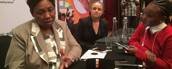 Angie Motshekga. Picture: Vumani Mkhize/EWN.