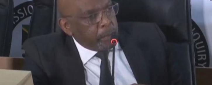 A screengrab of former ANC MP Vincent Smith appearing at the Zondo Commission on 4 September 2020. Picture: SABC/YouTube
