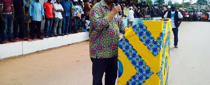 FILE: Gabonese opposition candidate Jean Ping. Picture: Facebook.