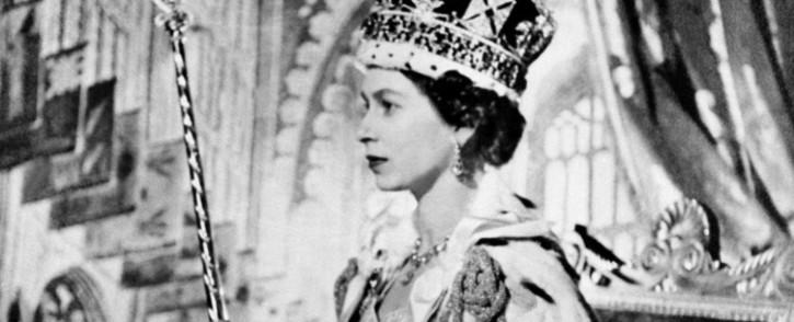 Queen Elizabeth II on her Coronation day in 1953 in London. Picture: AFP.