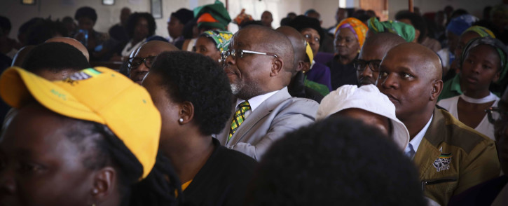 Secretary-General of the African National Congress, Gwede Mantashe, visited the Dullah Omar Region in the Western Cape Province. Picture: Cindy Archillies/EWN.