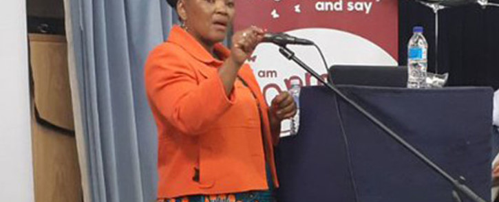 FILE: Western Cape Health MEC Nomafrench Mbombo. Picture: @WCHealthMEC/Twitter.