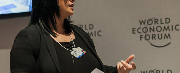 FILE: Karima Brown speaks at a World Economic Forum on Africa 2015 event in Cape Town. Picture: World Economic Forum/Jacob Polacsek/Flickr