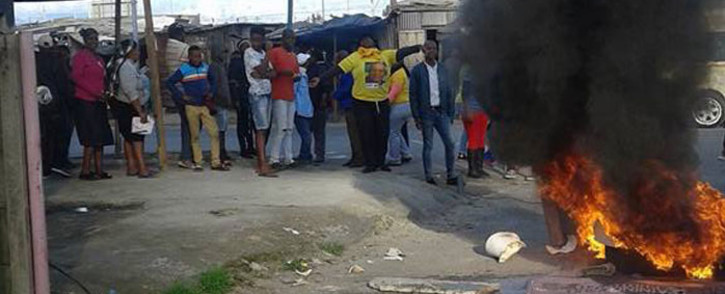 The scenes in Khayelitsha when the ANC introduced a candidate. Picture: Bongile Zanazo.