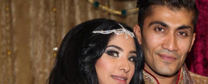 A file picture of Limpopo businessman Rameez Patel and his wife Fatima. Picture: Facebook.