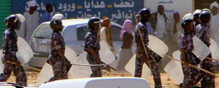 FILE: Anti-government protests in Sudan against President Omar Hassan al-Bashir. Picture: AFP