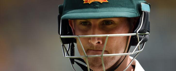 Australia's batsman Nic Maddinson. Picture: AFP.