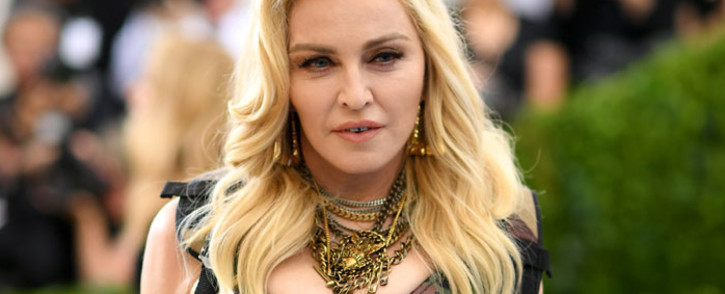 FILE: US pop singer Madonna is expecting to be back on stage on Thursday.. Picture: AFP.