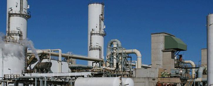 FILE: The PetroSA GTL refinery at Mossel Bay. Picture: petrosa.co.za
