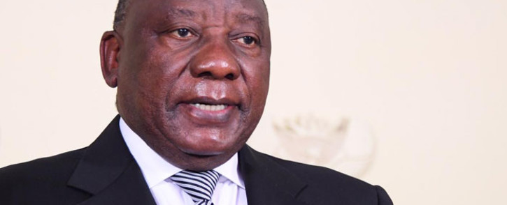 FILE: President Cyril Ramaphosa addresses the nation on the country's coronavirus measures on 12 July 2020. Picture: GCIS